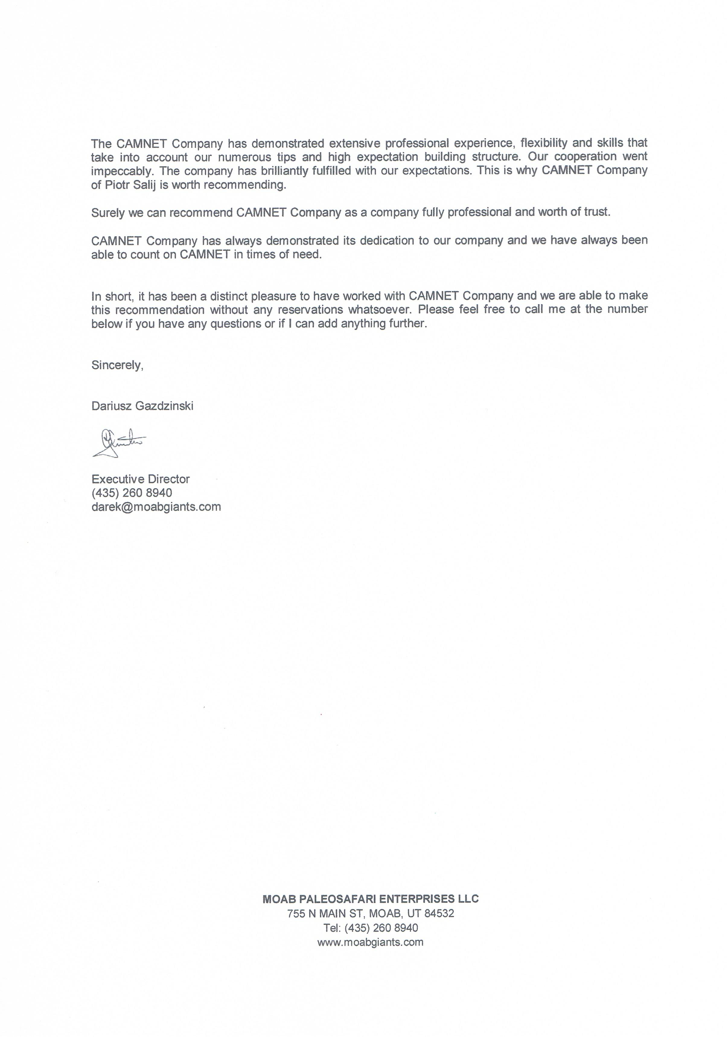 MOAB PALEOSAFARI ENTERPRISES LLC, USA, page 2