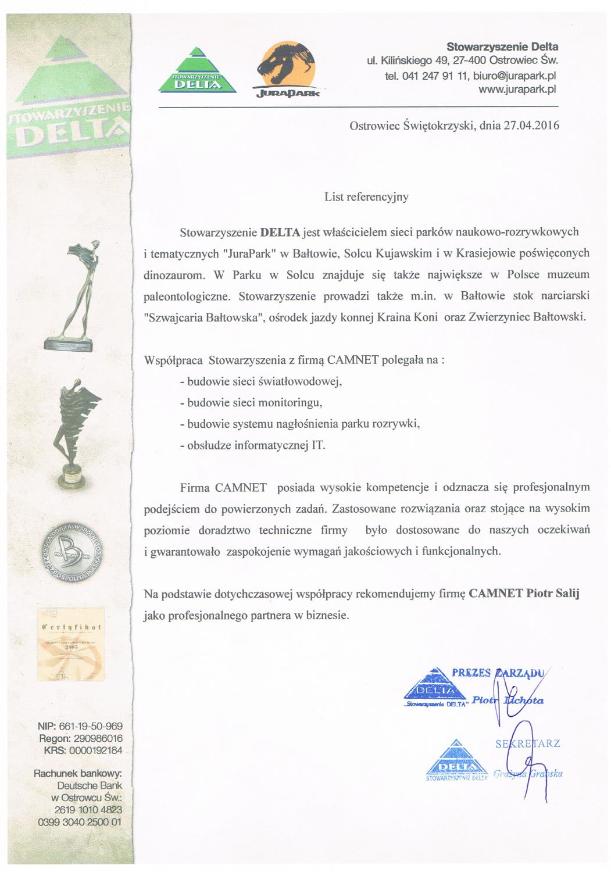 Stowarzyszenie DELTA - JuraPark